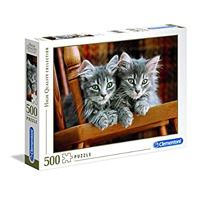 Clementoni 30545 High Quality Collection Puzzle Kittens 500 Pezzi