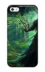 Durable Defender Case For Iphone 5/5s Tpu Cover(sorcerer)