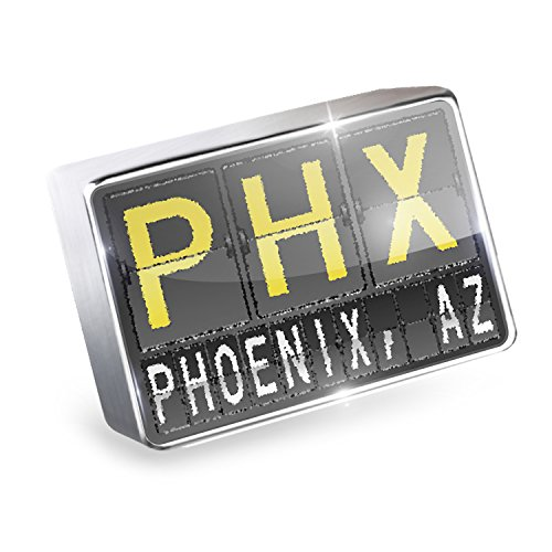 Floating Charm PHX Airport Code for Phoenix, AZ Fits Glass Lockets, - Airport Az Phoenix