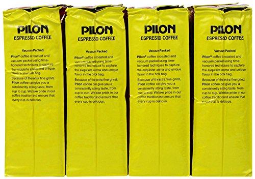 Verbazingwekkend Amazon.com : Pilon Espresso Coffee, 16 Ounce (Pack of 12) : Ground AE-43