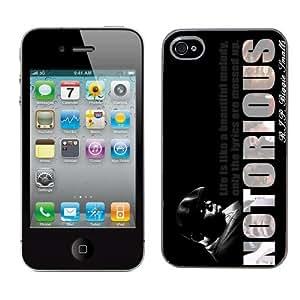 Notorious Big Biggie cas adapte iphone 4 et 4s couverture coque rigide de protection (3) case pour la apple i phone