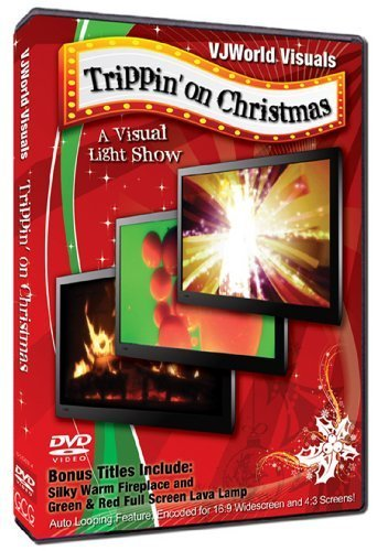 Warming TV Fireplace & Christmas Fun (Trippin' On Christmas ) by VJWorld Visuals