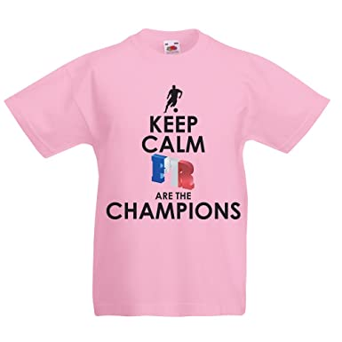 b81a59c13 Kids Boys Girls T-Shirt French are The Champions - Russia Championship 2018