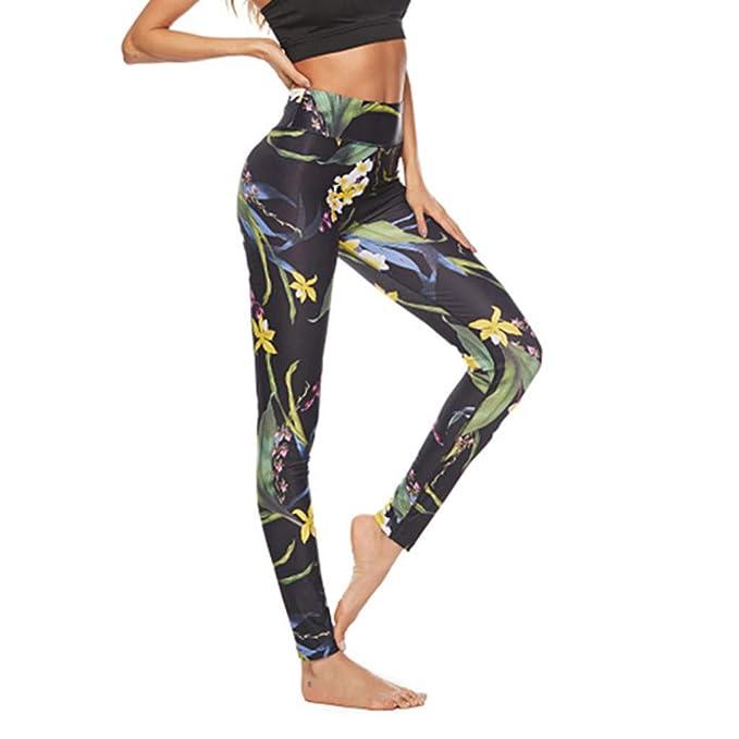 cinnamou Casual Laggins Pantalon Yoga Mujer, Fitness ...
