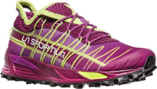 La Sportiva Mutant Womens Trail Running Shoes - SS18 Mutant Woman Plum/Apple Green Talla: 41.5 2GJEzUya