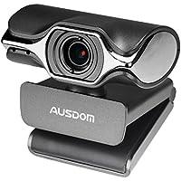 AUSDOM Webcam HD 1080P AW620 Web Computer Camera with Microphone