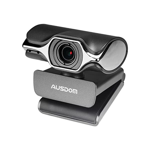 Webcam 1080P Full HD AUSDOM AW620 Manual Focus Video Camera with Dual Microphone for Skype YouTub