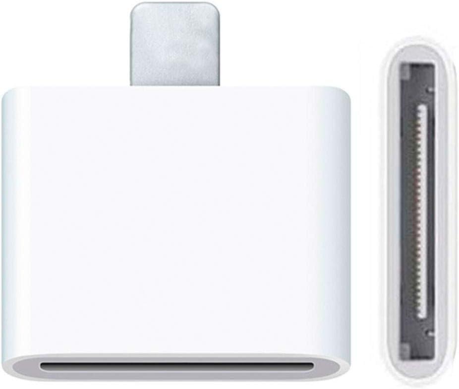 OcioDual Adaptador Conector Dock de 30 Pin a Lightning 8 Pin para iPhone 6, iPad Mini y iPad Retina