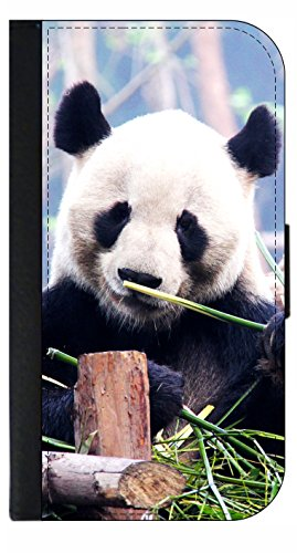 Panda Bear - Wallet Style Phone Case Compatible with the Samsung Galaxy s3/s4/s5/s6/s6edge/s7/s7edge/s8/s8Plus - Choose Your Compatible Phone Model (Phone For Galaxy Panda S3 Case)