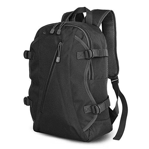 ZC&J Hombres y mujeres al aire libre bolso de hombro común, ocio, viaje, montañismo, mochila de montar, gran capacidad, bolsa de viaje impermeable, multifuncional de camuflaje,B,17L C