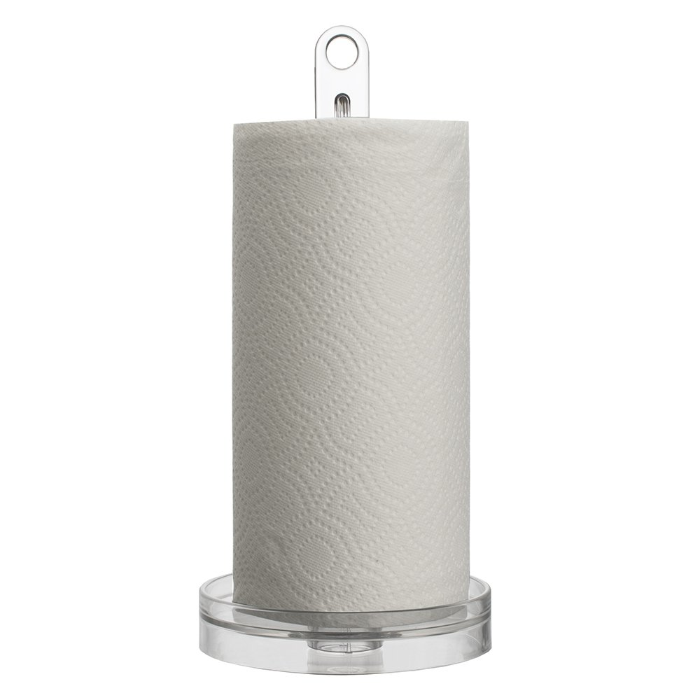 Clear Plastic Paper Towel Holder