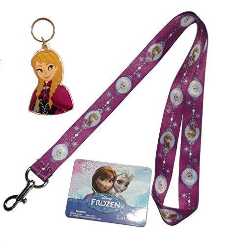 Disney® Frozen Ana Key Chain and Elsa Lanyard by Disney