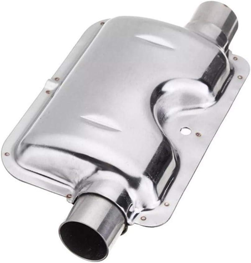ZQYX 24mm Standheizung Auspuff Schalld/ämpfer Edelstahl Abgasrohr 120cm Standheizungs-Auspuff F/ür Autoheizungsteile Auspuffrohr Und Schalld/ämpfers Heater Kit
