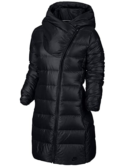 5d6829148 Amazon.com: Nike Women's NSW Down Fill Parka Jacket Black 854759-010 ...