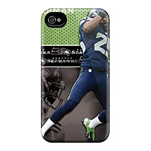 Best Hard Cell-phone Cases For Iphone 6 With Allow Personal Design Realistic Seattle Seahawks Image JonathanMaedel