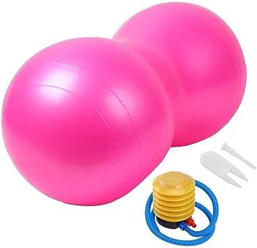 LHZHG Pelota de Gimnasia Cacahuete Forma Anti-Burst Balón Fitness ...
