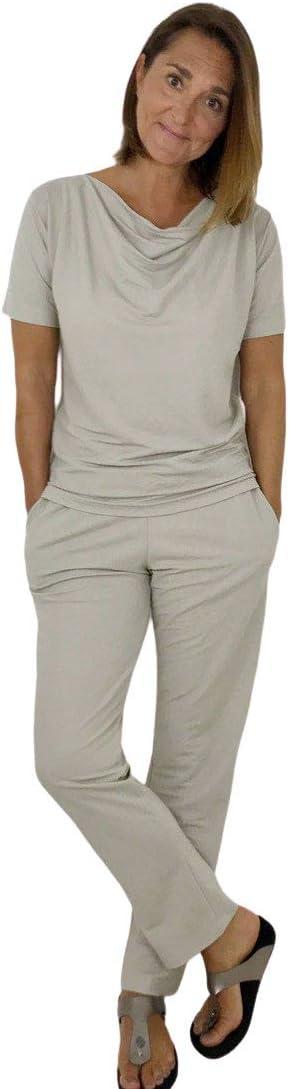 Papierschnittmuster//l/ässiges Shirt//Damenshirt//Wasserfallkragen//Gr N/ähtutorial zum selber N/ähen 158 bis Damengr 46 inkl
