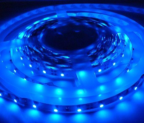 12 V tira de luces LED se ilumina en azul (1 Metre/60 ledes
