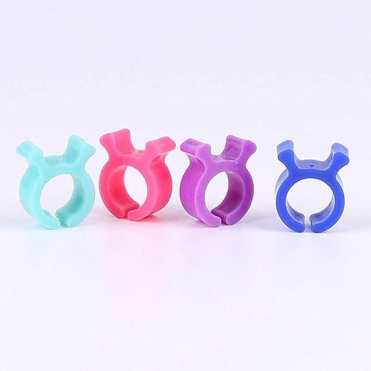24pcs / pack estuche de bobina de coser accesorio de herramienta de costura de clips pequeños Herramienta de soporte de clips de hilo de color - Multicolor: Amazon.es: Hogar
