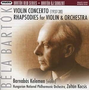 Bela Bartok Barnabas Kelemen Zoltan Kocsis Hungarian