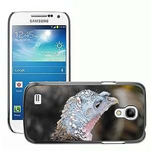 Just Phone Cases Etui Housse Coque de Protection Cover Rigide pour // M00127336 Pájaro Turquía Head // Samsung Galaxy S4 Mini i9190