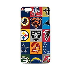 WWAN 2015 New Arrival nfl teams 3D Phone Case for iphone 6 plus