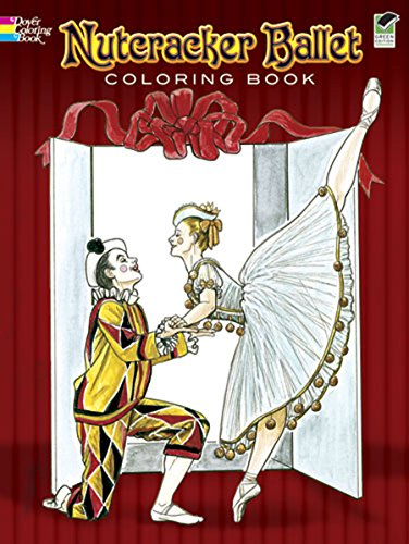 Dance Trends Costumes - Nutcracker Ballet Coloring Book (Dover Holiday Coloring Book)
