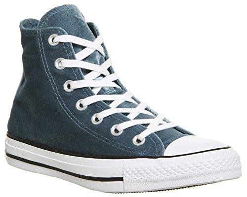 Conversare Come Hi Can Carboncino 1j793 Unisex-erwachsene Sneaker Teal Velluto