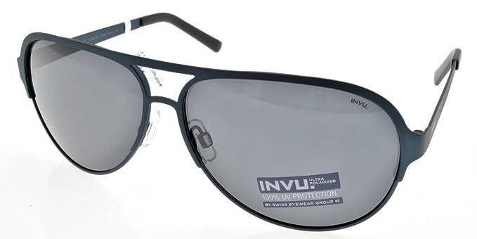 Lunettes de soleil INVU T1505C Bleu Aviator  INVU  Amazon.fr ... 263fbfeedcc7