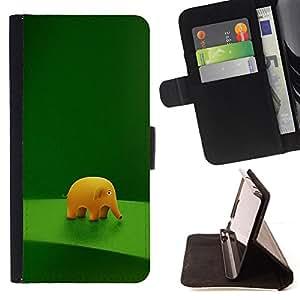 For Samsung Galaxy S3 Mini I8190Samsung Galaxy S3 Mini I8190 - Funny Cute Elephant /Funda de piel cubierta de la carpeta Foilo con cierre magn???¡¯????tico/ - Super Marley Shop -