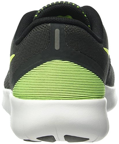 Nike Nike (Nikmm) Free Rn (Gs) - Zapatillas de deporte Unisex Niños Grau (Anthrazit/Gelb/Schwarz/Weiß)