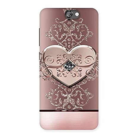 4034a594a Elite Heart Pink Design Back Case Cover for HTC One A9  Amazon.in   Electronics