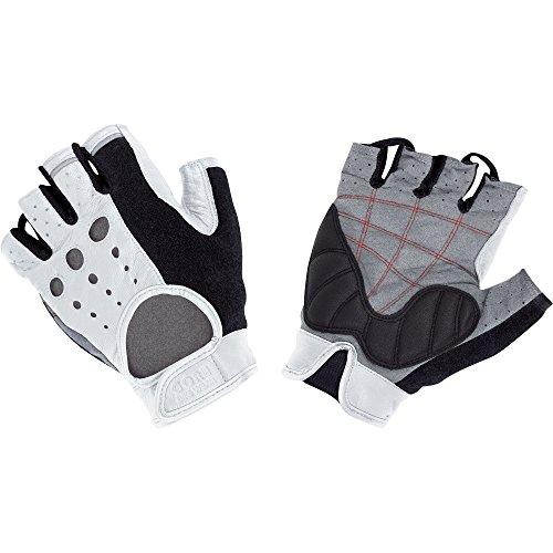 Gore Bike WEAR Retro TECH Gloves, EU Size 8, White/Black