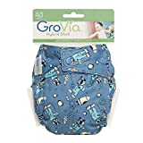 GroVia - Shell Snap Closure Baby Diaper with Waterproof Layer - Astro