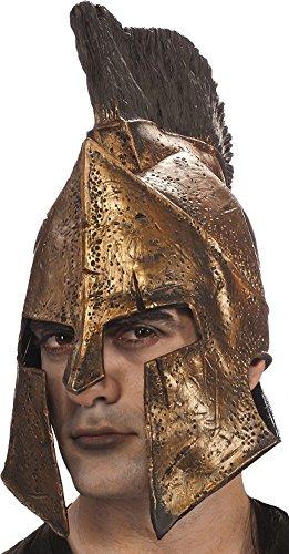[Deluxe Leonidas Helmet Costume Accessory] (Spartan 300 Halloween Costumes)