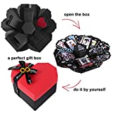RECUTMS Love Explosion Box DIY Scrapbooking Set
