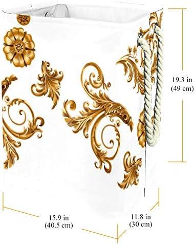 Tizorax Panier à linge séparé en PVC imperméable et pliable avec poignée souple colorée
