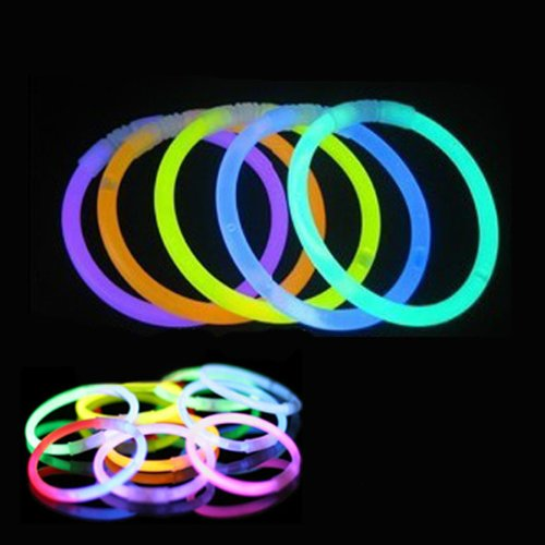 1000x Tube Glow Stick Batons Fluo Lumineux MULTICOULEUR Bracelets Bar Touilleur