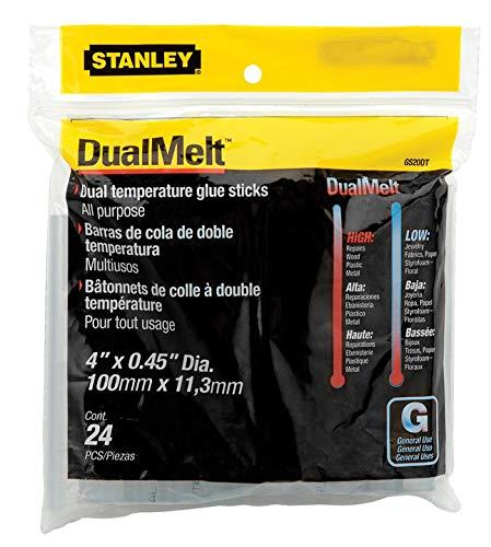 Price comparison product image Stanley GS20DT Dual Temperature 4-Inch Glue Sticks,  24-Pack