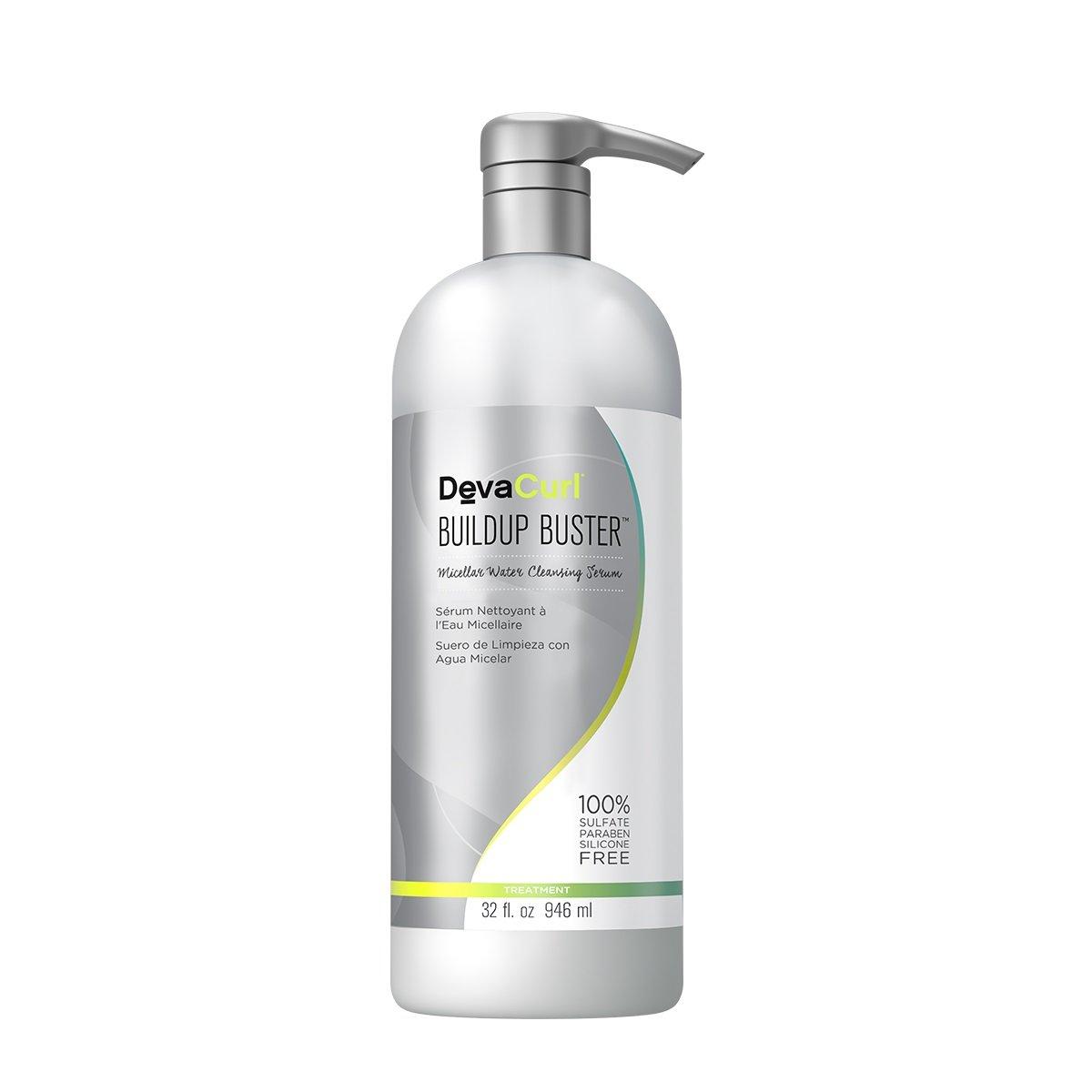 デヴァ Buildup Buster (Micellar Water Cleansing Serum - For All Curl Types) 946ml/32oz並行輸入品 B06WD5Q5FK