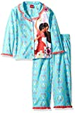 Disney Big Girls' Elena Avalor 2-Piece Pajama Coat, Blue, 8