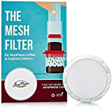 2 JavaPresse Reusable Metal Coffee Filters for Aerobie AeroPress - Stainless Steel Mesh - Slim Disks