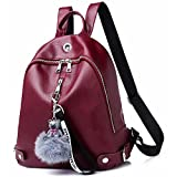 Women Backpack Purse Leather Cute Shoulder Bag Waterproof Casual Mini Bag Purses