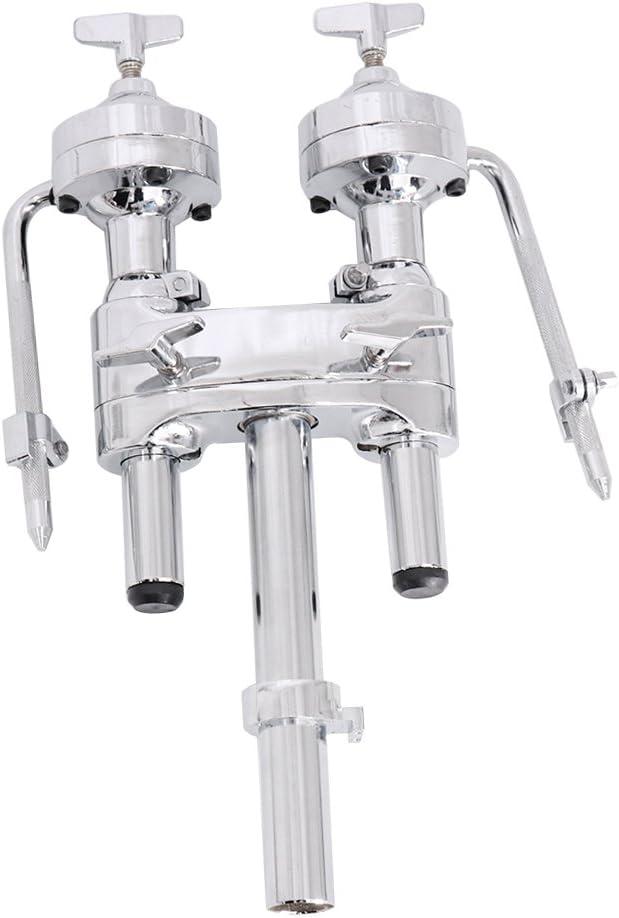 gazechimp Double Tom Holder Mount For Bass Drum Parts Accessories