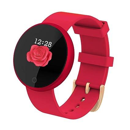 Las Mujeres B36 / Mujer Soporte 12 Idiomas SmartWatch Reloj de ...