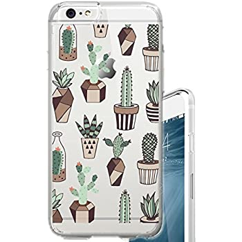 Amazon Com Iphone 7 Case Succulents Cactus Indoor Plant