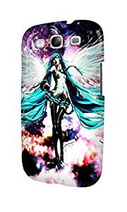 S30743 Vocaloid Hatsune Miku Glossy Case Cover For Galaxy S3 by mcsharks