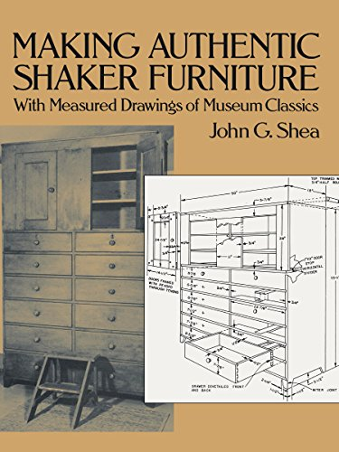 Making Furniture Wood (Making Authentic Shaker Furniture: With Measured Drawings of Museum Classics (Dover Woodworking))