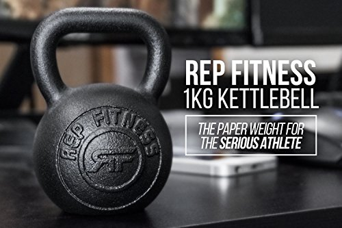 Rep 1 kg Kettlebell Paperweight or Gift Item by Rep Fitness (Image #2)