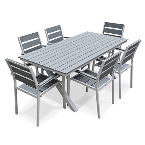 best table jardin bois gris pictures amazing house